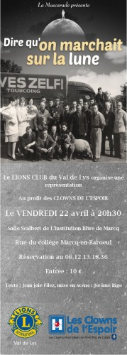 flyer La mascarade 22 avril