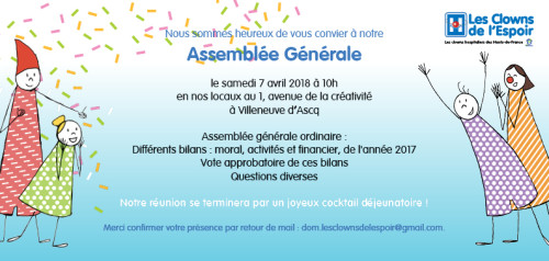 invitation AG 2018